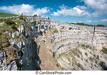 Creux du van amphitheater, Neuchatel, Switzerland