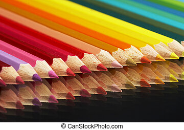 creyones coloreados