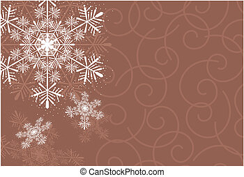 crhistmas snowflake background