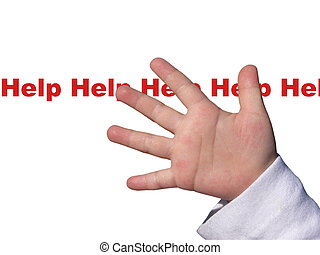 criança, necessidade, ajuda