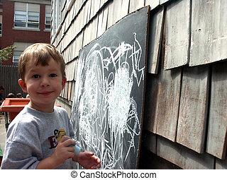 criança pré-escolar