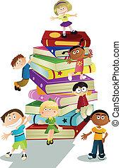 crianças, educação