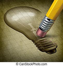 criatividade, perdido