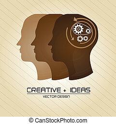 criativo, idéias