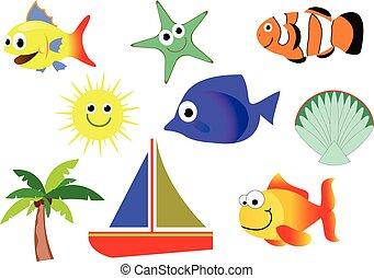 criaturas mar