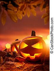 cric-o-les lanternes, halloween