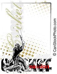 cricket background 1