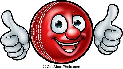 cricket bal, mascotte