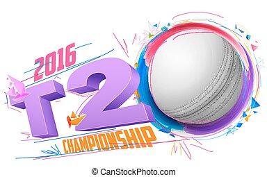 Cricket ball for T20 Cricket Championship