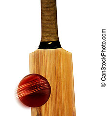 Cricket bat & ball