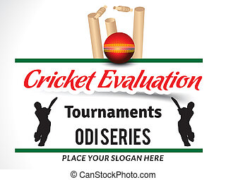 Cricket Evalution Tournament Banner