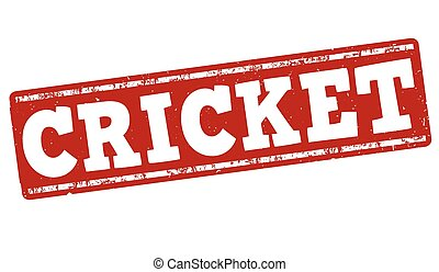 Cricket stamp