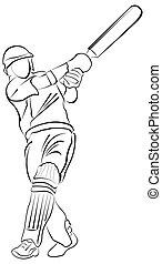 Cricket - Bating Action