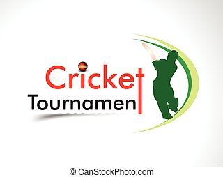 cricket tournament banner