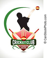 Cricket Tournament Text Background - Cricket Tournament Text...