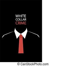 crime blanc col