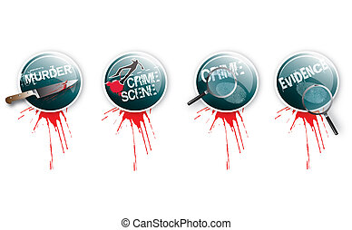 Crime Buttons 2