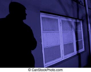Crime - Concept... burglary, theft, crime....
