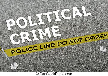 crime, concept, politique
