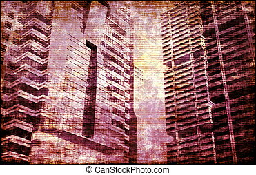 Crime and Moral Decay Buildings as Background