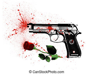 crime for love - symbol a crime in the name of love, a...