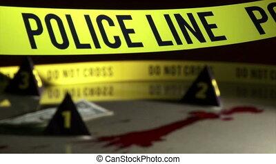 Crime Investigation, police line