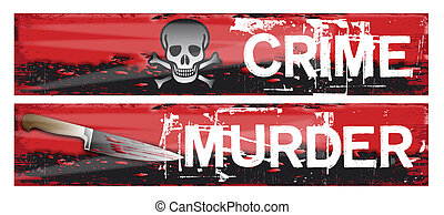 Crime Themed Banners