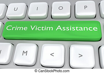 Crime Victim Assistance concept