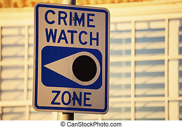 Crime watch zone