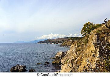 Crimea the Black Sea coast