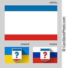 Crimea, vector illustration 10eps