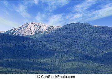 crimean, הרים