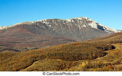 crimean, montanhas, 1