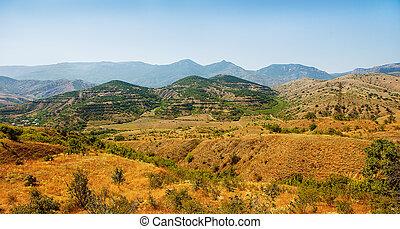 Crimean peninsula panoramic viewing area