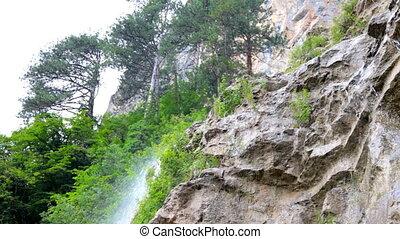 crimean, watervallen