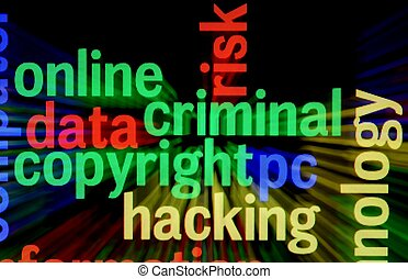 Criminal copyright hacking