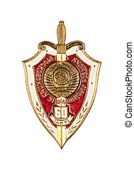 """Criminal Investigation 60 years"" badge"