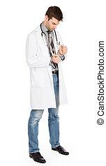 crimineel, chirurg, -, concept, van, mislukking, in, gezondheidszorg