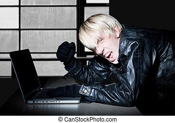 crimineel, computer