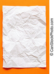 crimp White Paper texture sheet