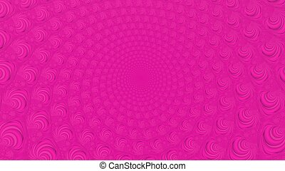 Crimson abstract fractal background