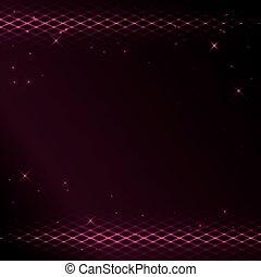 crimson background with bright