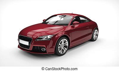 Crimson Business Car