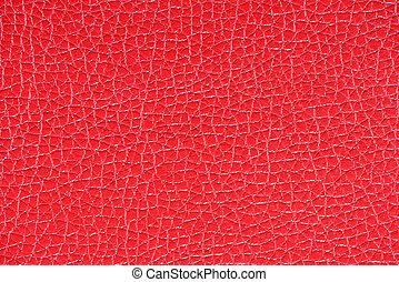 Crimson leather background  texture
