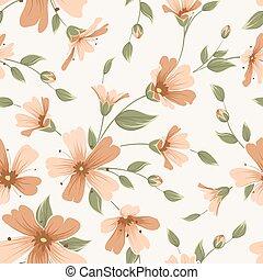 Crimson maroon gypsophila floral seamless pattern - Crimson ...