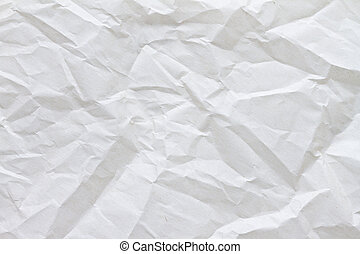Crinkled parchment paper