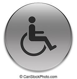 Cripple sign - Sign for beware criple cross.