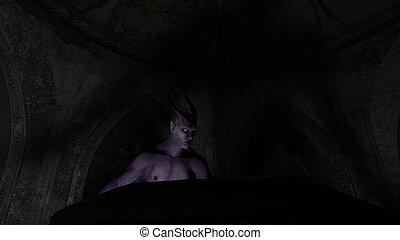 cripta, satã, anjo caído