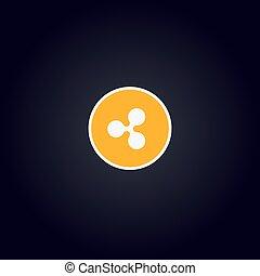 Cripto logo coin: Ripple