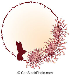crisantemo, marco
